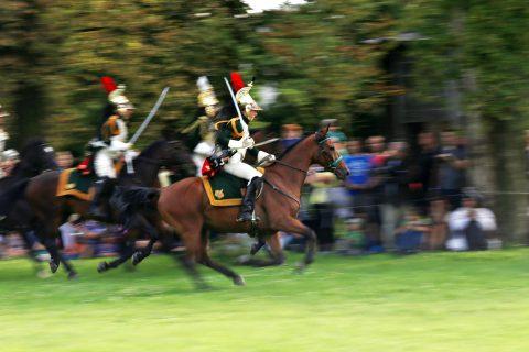 Napoleonské hry v polovině srpna připomínají výročí narození Napoleona Bonaparte