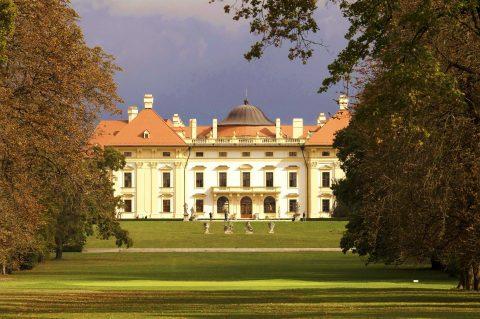 Golfové hřiště v parku patří k těm nejkrásnějším v Česku