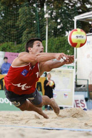 Beach voleyball ve Slavkově u Brna patří mezi nejlepší v Česku