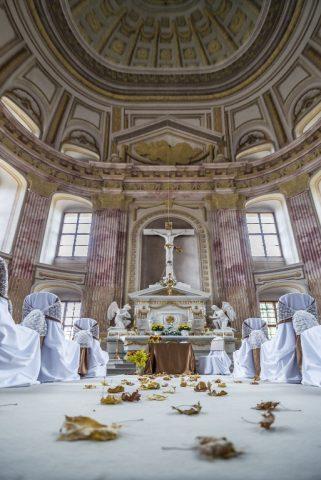 Zámecká kaple je ideálním místem pro svatební obřad