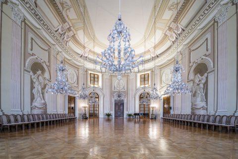 Historický sál zámku Slavkov