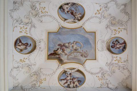 zámecké fresky